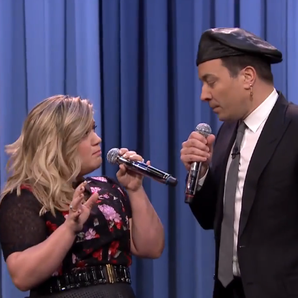 Jimmy Fallon Kelly Clarkson