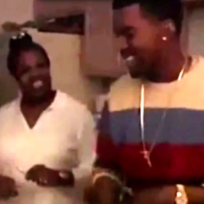 Kanye West and mum Donda video