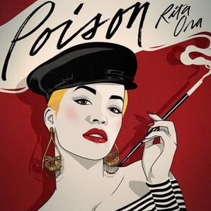 Rita Ora Poison single artwork