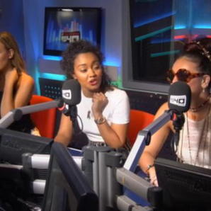 Little Mix In The Big Top 40 Studio