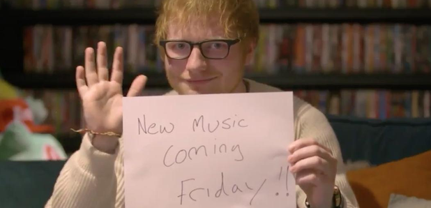 Ed Sheeran new music coming post