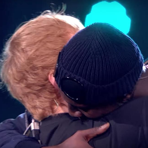 Ed Sheeran Stormzy Brit Awards On Stage