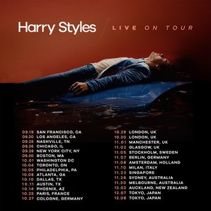 Harry Styles tour
